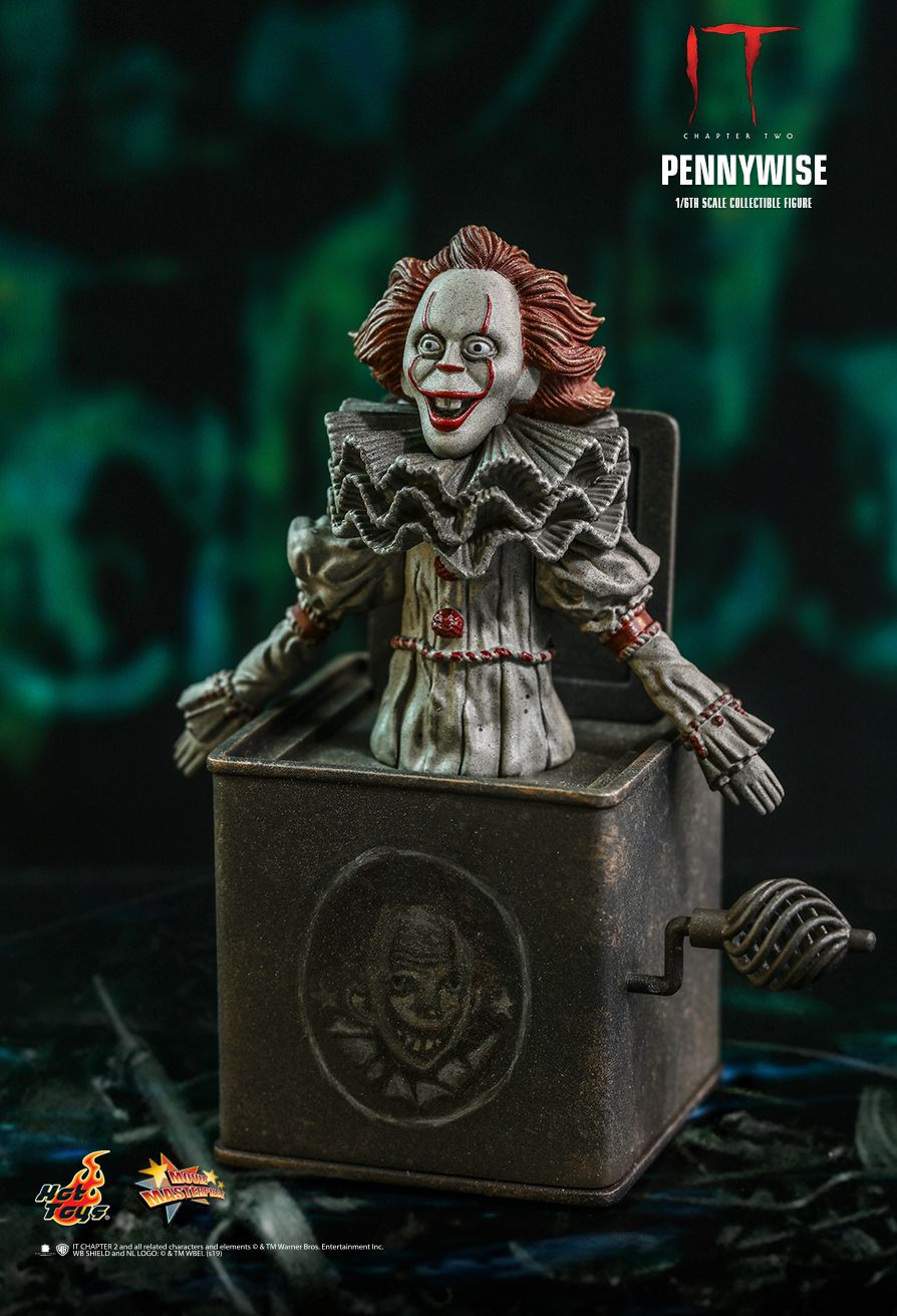NEW PRODUCT: HOT TOYS: IT CHAPTER TWO PENNYWISE 1/6TH SCALE COLLECTIBLE FIGURE 6249