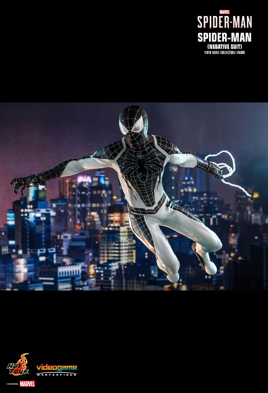 Spider-Man - NEW PRODUCT: HOT TOYS: MARVEL'S SPIDER-MAN SPIDER-MAN (NEGATIVE SUIT) 1/6TH SCALE COLLECTIBLE FIGURE (EXCLUSIVE EDITION) 6264