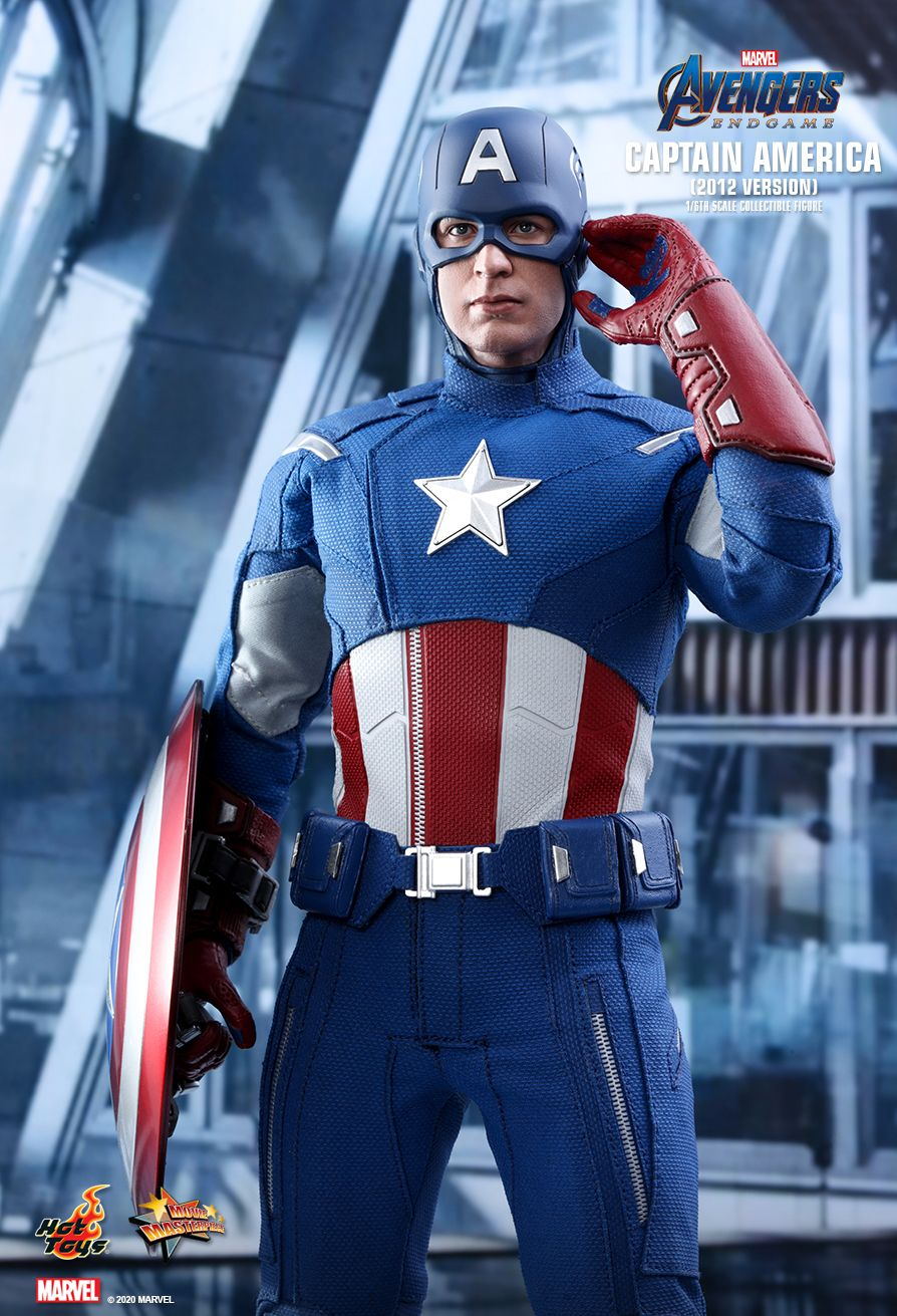 movie - NEW PRODUCT: HOT TOYS: AVENGERS: ENDGAME CAPTAIN AMERICA (2012 VERSION) 1/6TH SCALE COLLECTIBLE FIGURE 6279