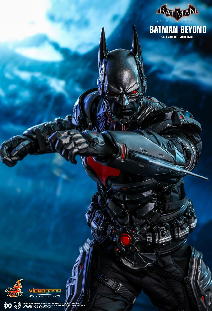 videogame - NEW PRODUCT: HOT TOYS: BATMAN: ARKHAM KNIGHT BATMAN BEYOND 1/6TH SCALE COLLECTIBLE FIGURE 6287