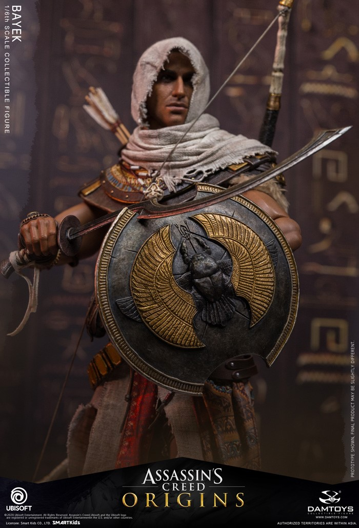 male - NEW PRODUCT: 1/6 DamToys Assassin's Creed Origins - Bayek 1/6 scale figure 6317