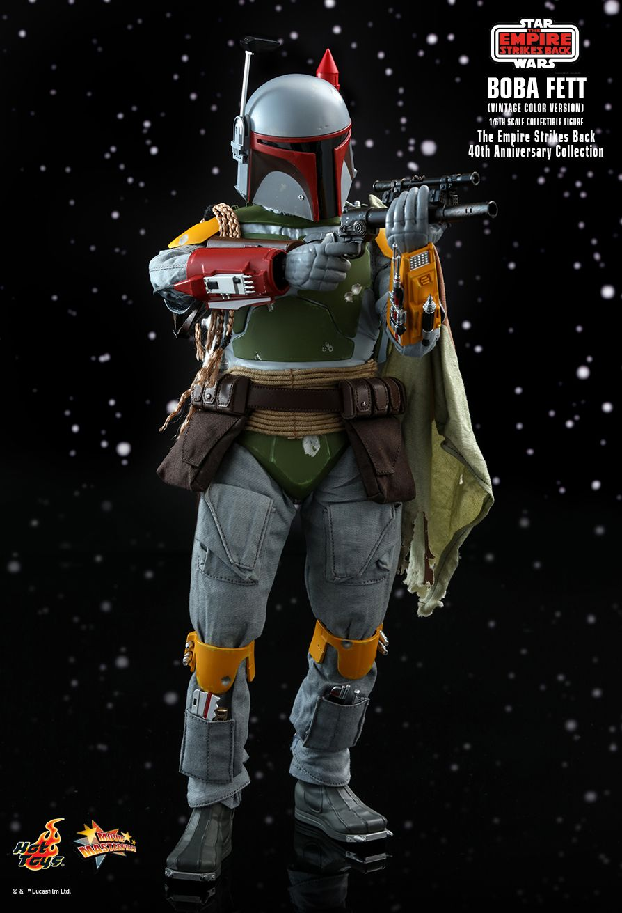 hottoys - NEW PRODUCT: HOT TOYS: STAR WARS: THE EMPIRE STRIKES BACK™ BOBA FETT™ (VINTAGE COLOR VERSION) (40TH ANNIVERSARY COLLECTION) 1/6TH SCALE COLLECTIBLE FIGURE 6320