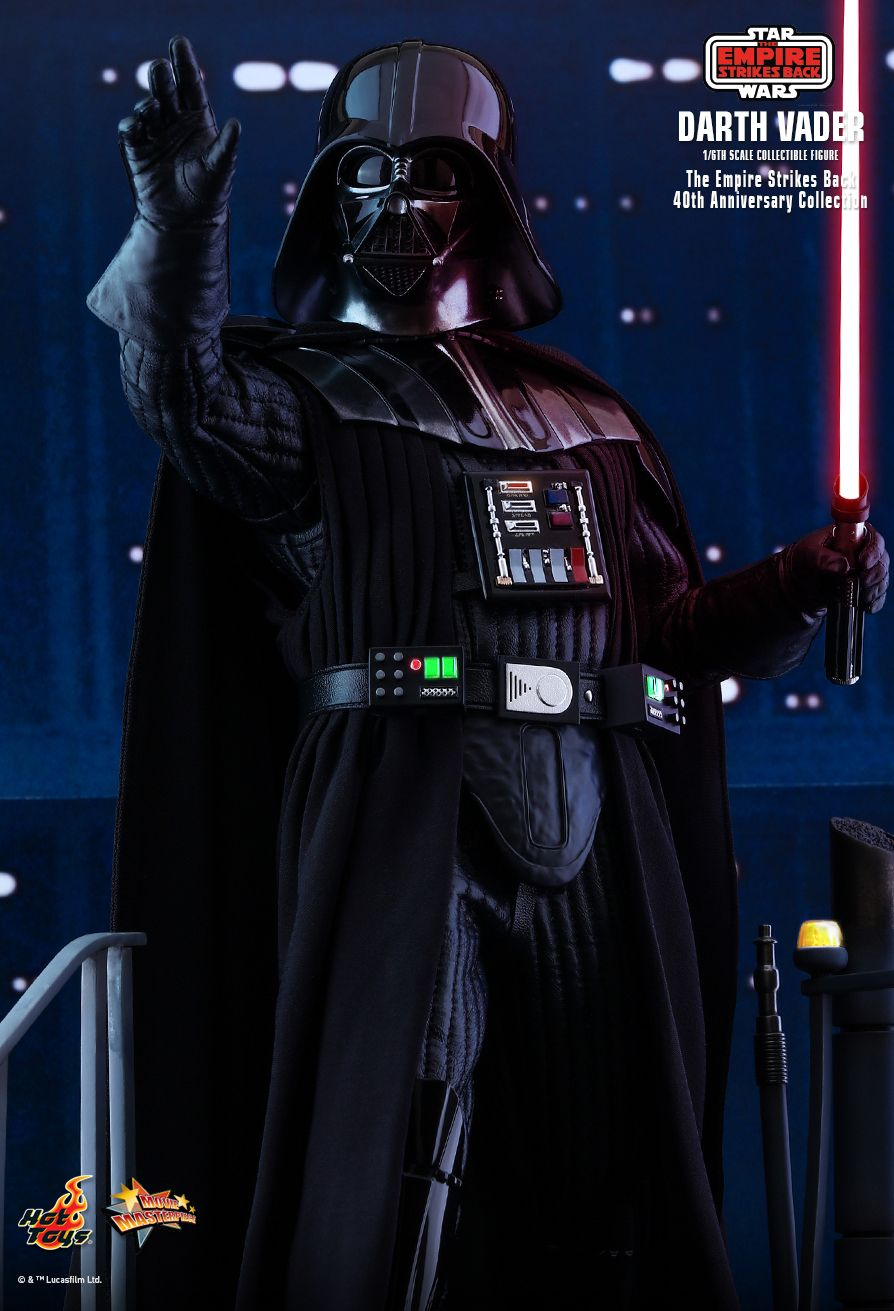 StarWars - NEW PRODUCT: HOT TOYS: STAR WARS: THE EMPIRE STRIKES BACK™ DARTH VADER™ (40TH ANNIVERSARY COLLECTION) 1/6TH SCALE COLLECTIBLE FIGURE 6321