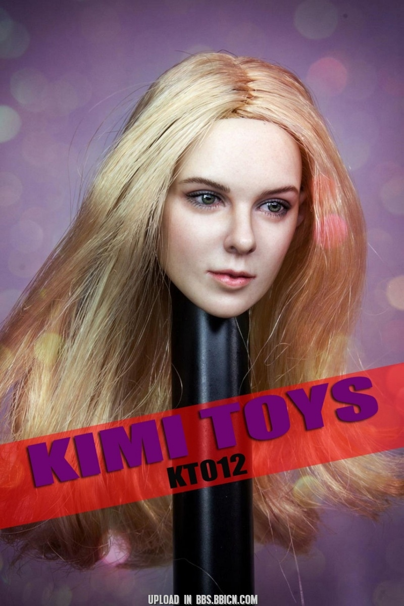 NEW PRODUCT: Kimi Toyz 1:6 European and American Female Headsculpt [KT-012] 634