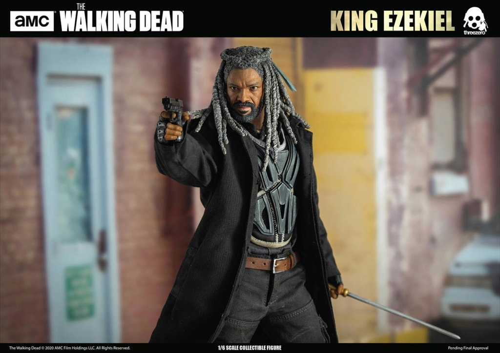 walkingdead - NEW PRODUCT: Threezero: The Walking Dead – 1/6 King Ezekiel 6347