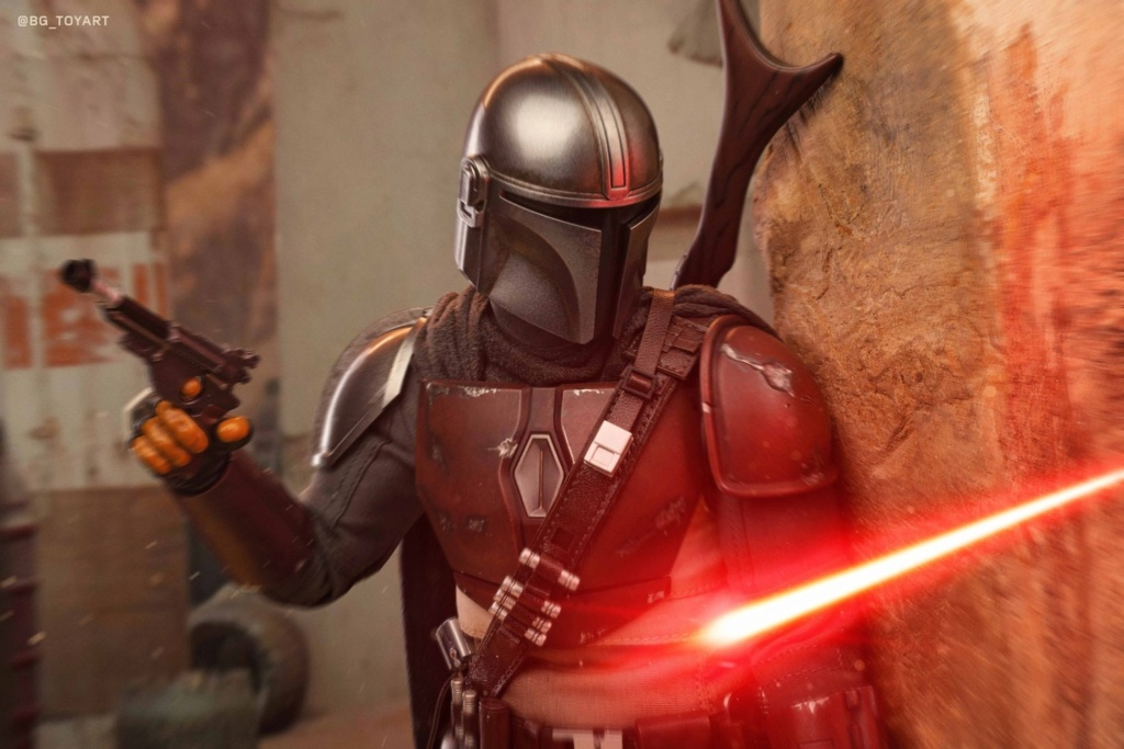 StarWars - NEW PRODUCT: HOT TOYS: THE MANDALORIAN -- THE MANDALORIAN 1/6TH SCALE COLLECTIBLE FIGURE 6350