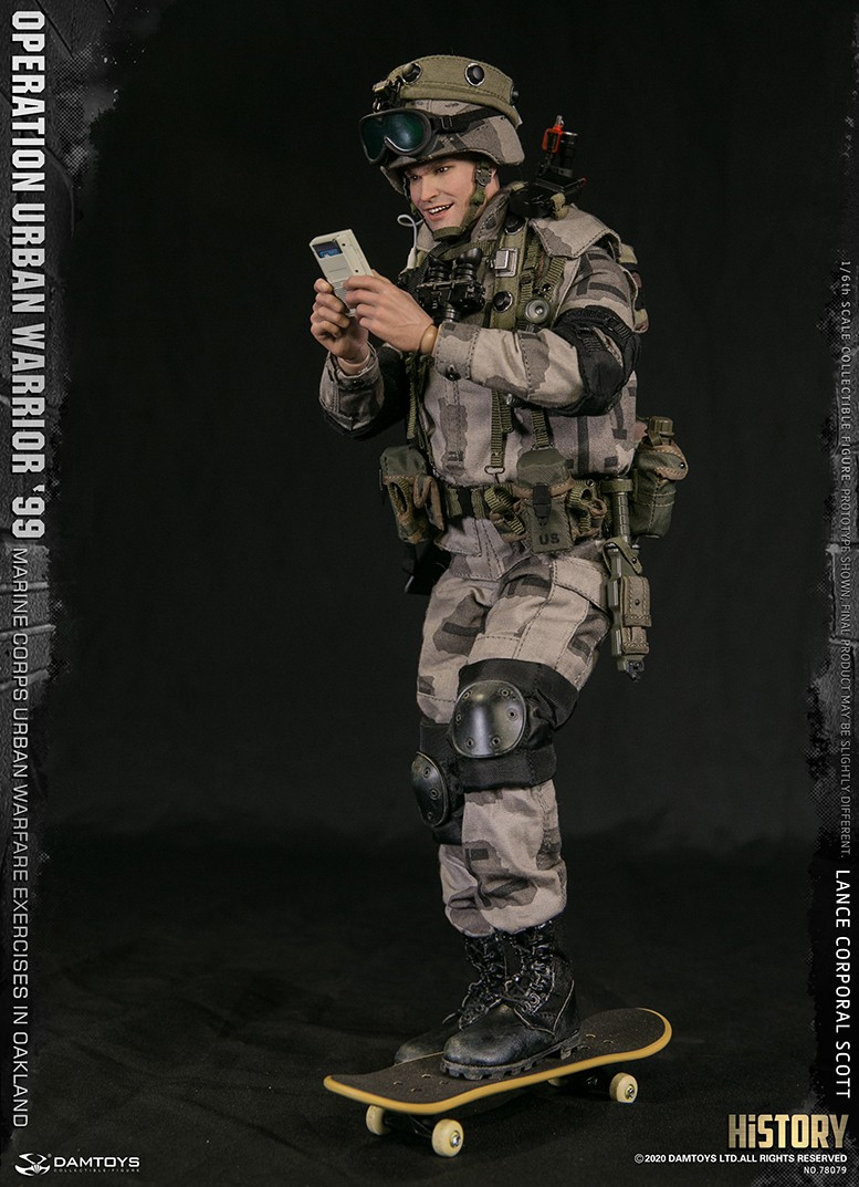 MarineCorps - NEW PRODUCT: DAMToys: 1/6 '99 City Warrior Operation-Marine Corps Oakland City Battle Exercise - Lance Corporal Scott #78079 6355