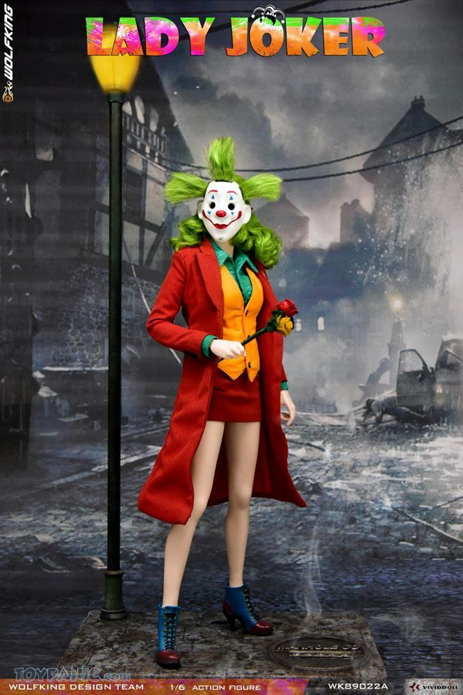 Wolfking - NEW PRODUCT: Wolfking: 1/6 scale Female Joker figure (Standard and Deluxe Editions) 64f86210