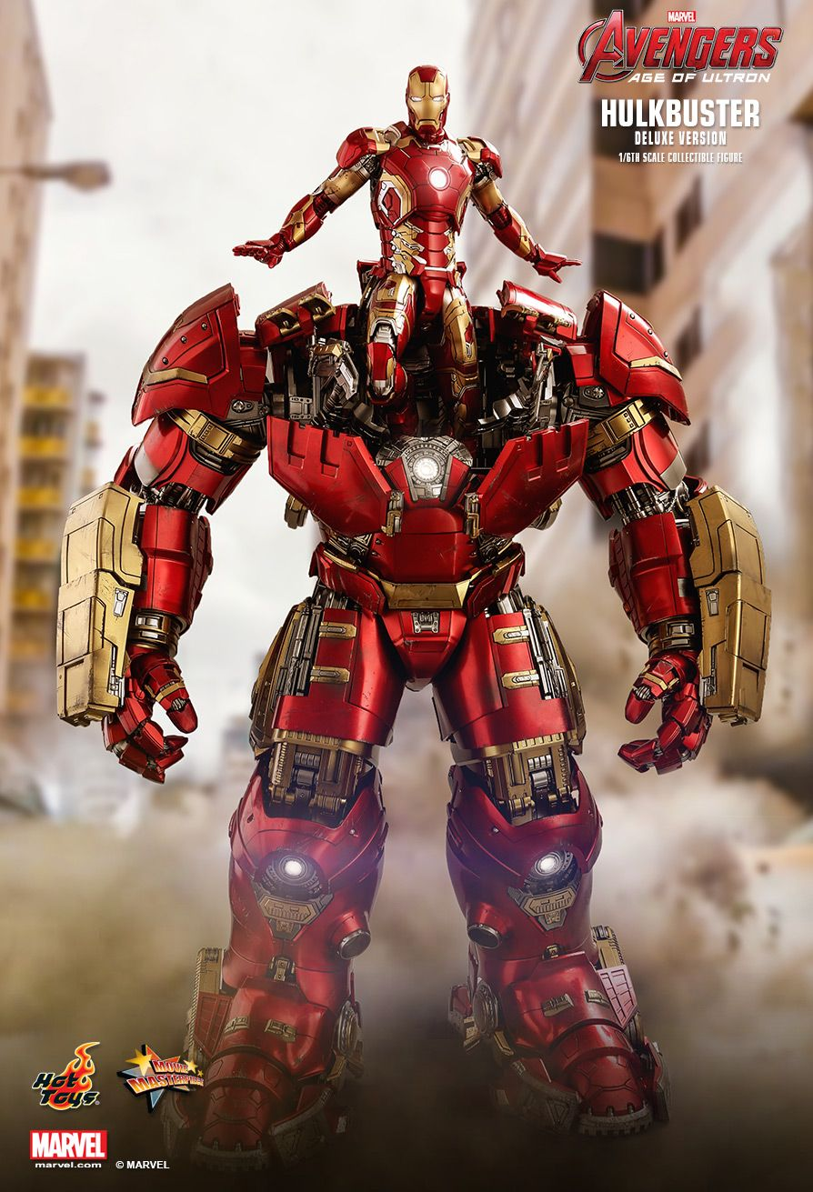 NEW PRODUCT: HOT TOYS: AVENGERS: AGE OF ULTRON HULKBUSTER (DELUXE VERSION) 1/6TH SCALE COLLECTIBLE FIGURE 678