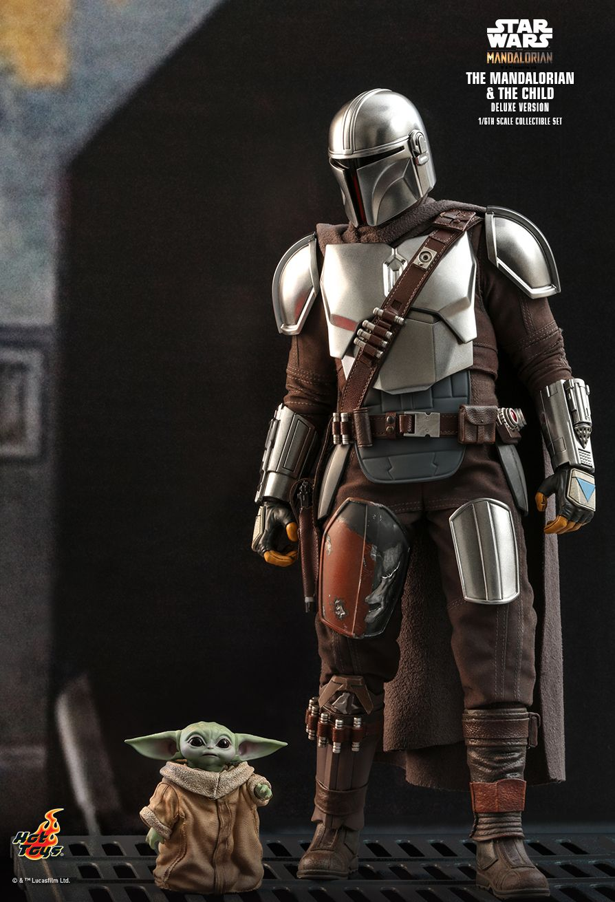 Sci-Fi - NEW PRODUCT: HOT TOYS: THE MANDALORIAN THE MANDALORIAN AND THE CHILD 1/6TH SCALE COLLECTIBLE SET (Standard and Deluxe) 6784ef10