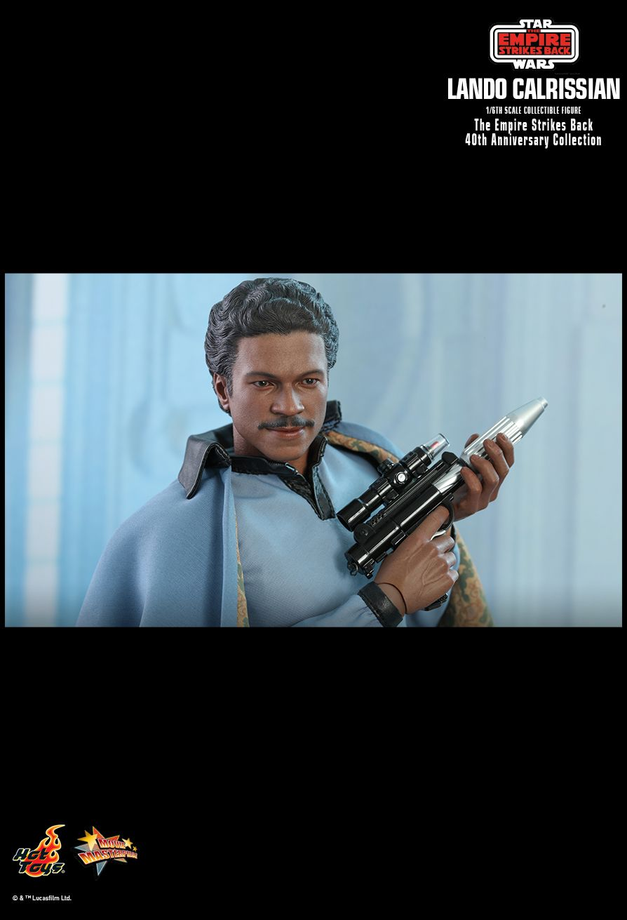 movie - NEW PRODUCT: HOT TOYS: STAR WARS: THE EMPIRE STRIKES BACK™ LANDO CALRISSIAN™ (STAR WARS: THE EMPIRE STRIKES BACK 40TH ANNIVERSARY COLLECTION) 1/6TH SCALE COLLECTIBLE FIGURE 68407610