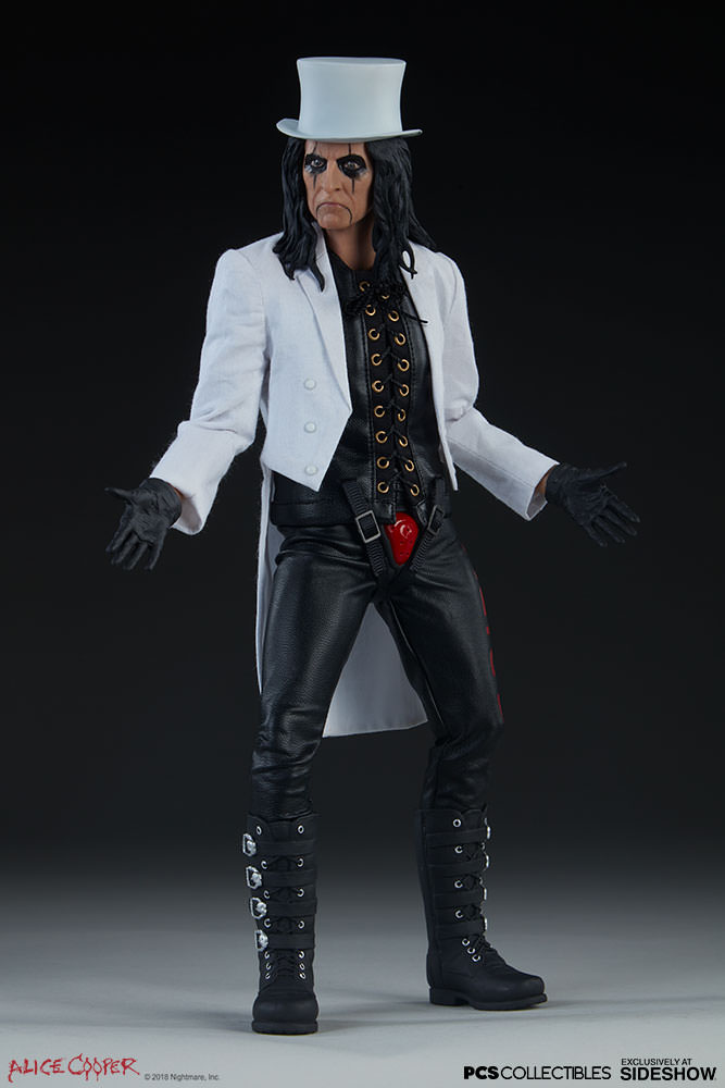 NEW PRODUCT: Alice Cooper Sixth Scale Figure by Pop Culture Shock 687