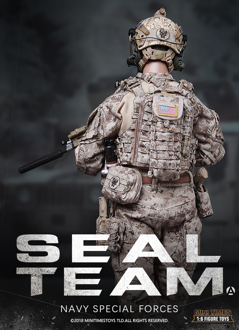 minitimes - NEW PRODUCT: MINI TIMES TOYS US NAVY SEAL TEAM SPECIAL FORCES 1/6 SCALE ACTION FIGURE MT-M012 688