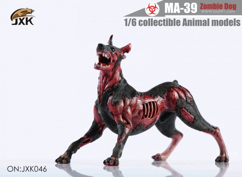 Dog - NEW PRODUCT: JXK: 1/6 Zombie Dog 2.0 JXK046 Resident Evil Zombie Dog Doberman 691be810