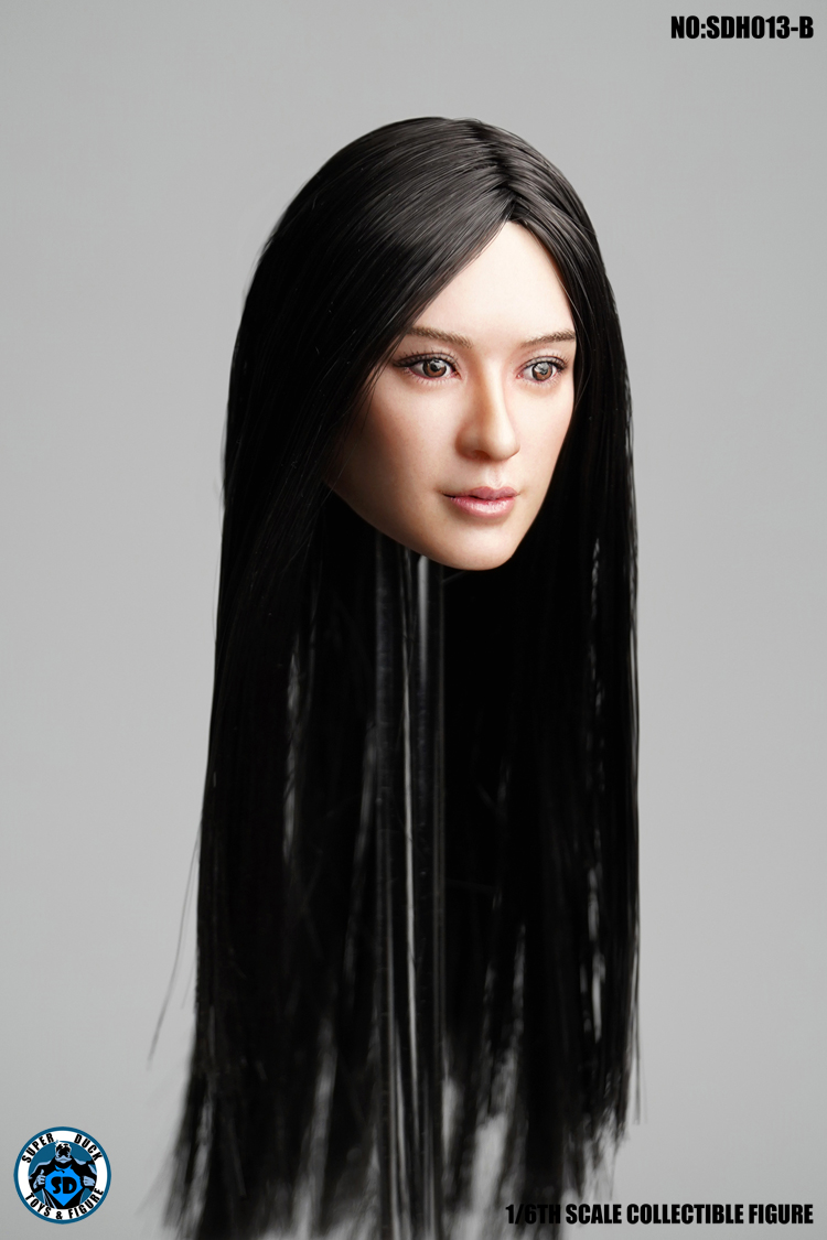 superduck - NEW PRODUCT: SUPER DUCK New product: 1/6 SDH013 female head carving - ABC three models 695