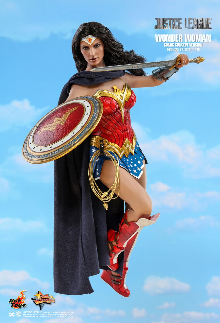 NEW PRODUCT: HOT TOYS: JUSTICE LEAGUE WONDER WOMAN (COMIC CONCEPT VERSION) 1/6TH SCALE COLLECTIBLE FIGURE 699