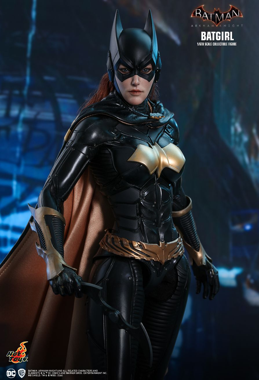 batman - NEW PRODUCT: HOT TOYS: BATMAN: ARKHAM KNIGHT BATGIRL 1/6TH SCALE COLLECTIBLE FIGURE 6f86fd10