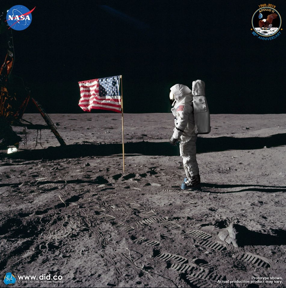 did - NEW PRODUCT: DiD: Apollo 11 50th Anniversary Astronauts (Neal Armstrong, Buzz Aldrin & Michael Collins) 70490110