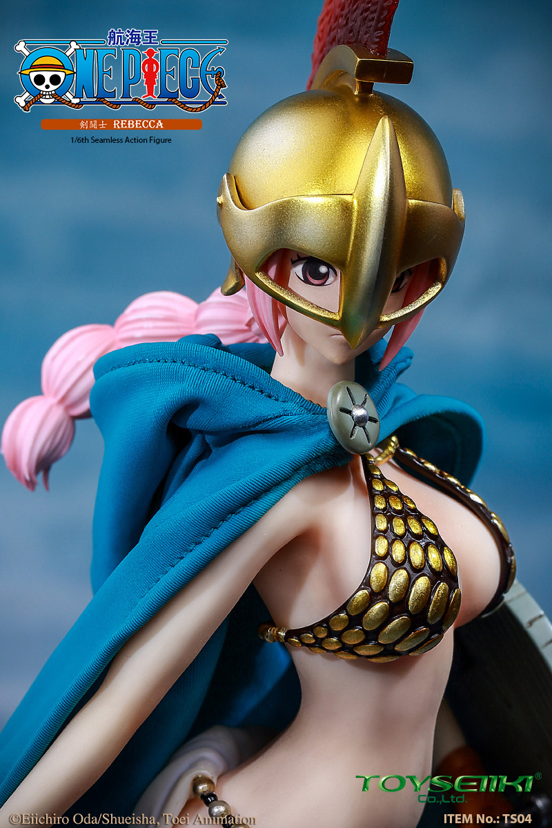 "NEW PRODUCT: TOYSEIIKI New product: 1/6 ""One Piece"" genuine license - Sword Fighter Rebecca (double head carved single body) 7103"