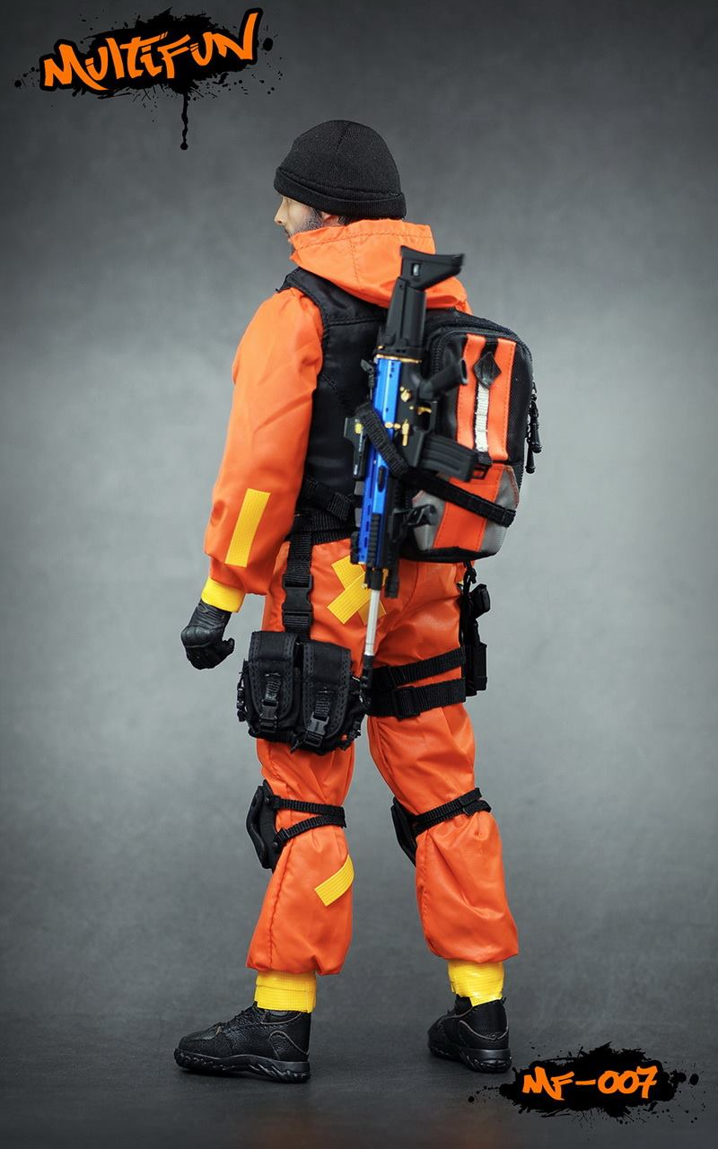 NEW PRODUCT: MULTIFUN 1/6th scale Quarantine Zone Agent 12-inch action figure Set 7117