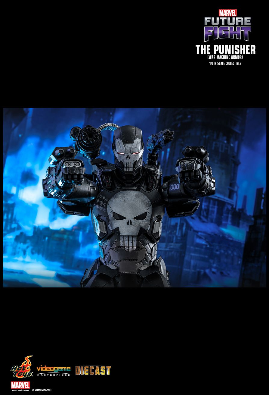 Videogame - NEW PRODUCT: HOT TOYS: MARVEL FUTURE FIGHT THE PUNISHER (WAR MACHINE ARMOR) 1/6TH SCALE COLLECTIBLE FIGURE 7129