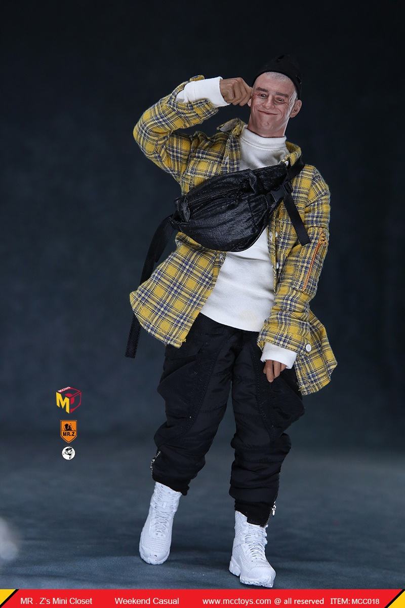 MCCTOys - NEW PRODUCT: MCCToys x Mr.Z: 1/6 Z's Mini Closet Series - Weekend Casual Set (MCC01#) 7134