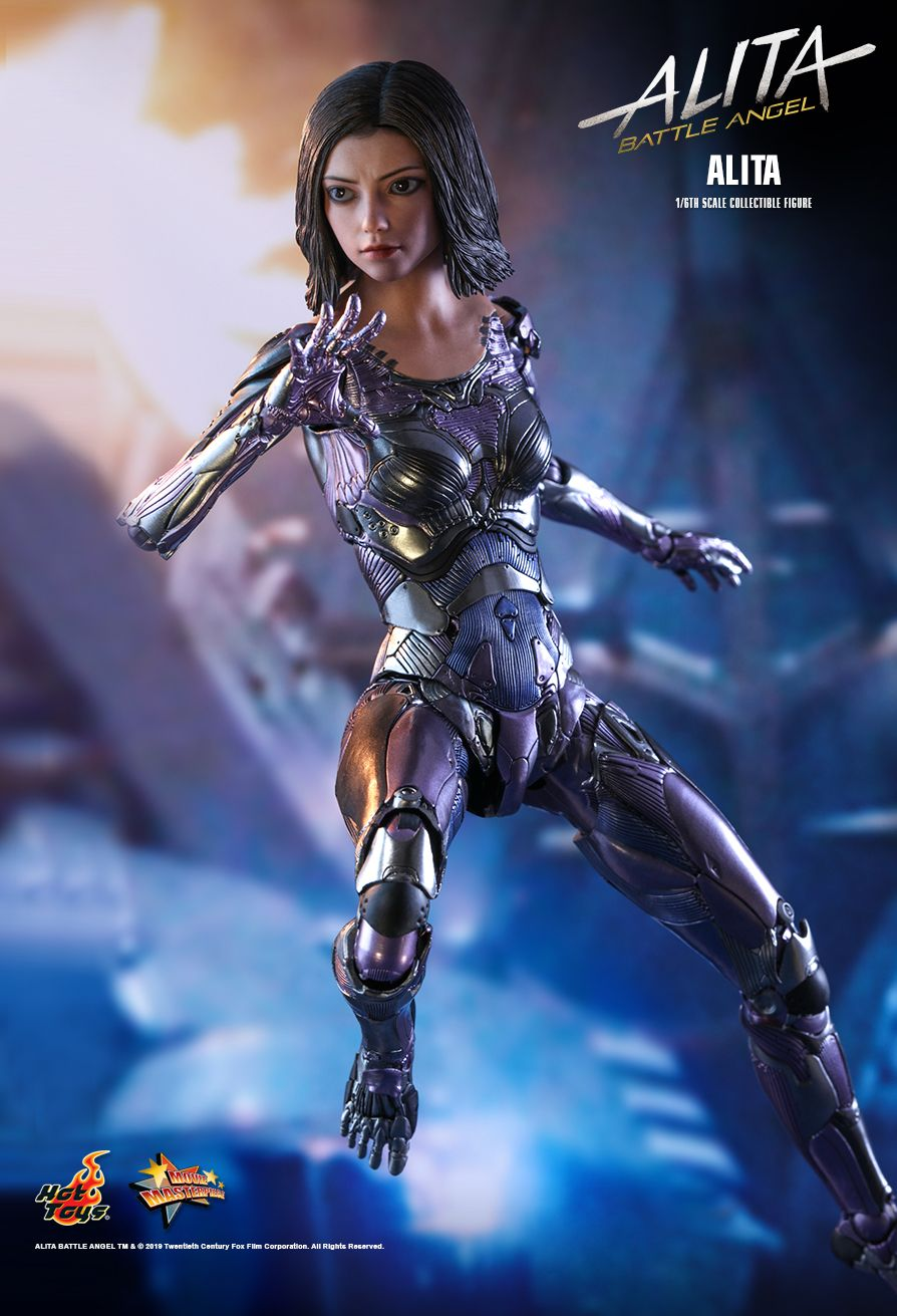 Alita - NEW PRODUCT: HOT TOYS: ALITA: BATTLE ANGEL ALITA 1/6TH SCALE COLLECTIBLE FIGURE 7136