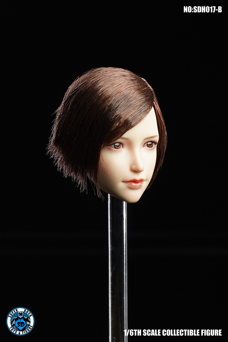 SuperDuck - NEW PRODUCT: SUPER DUCK New product: 1/6 SDH017 Female head carving - ABC three models 7145