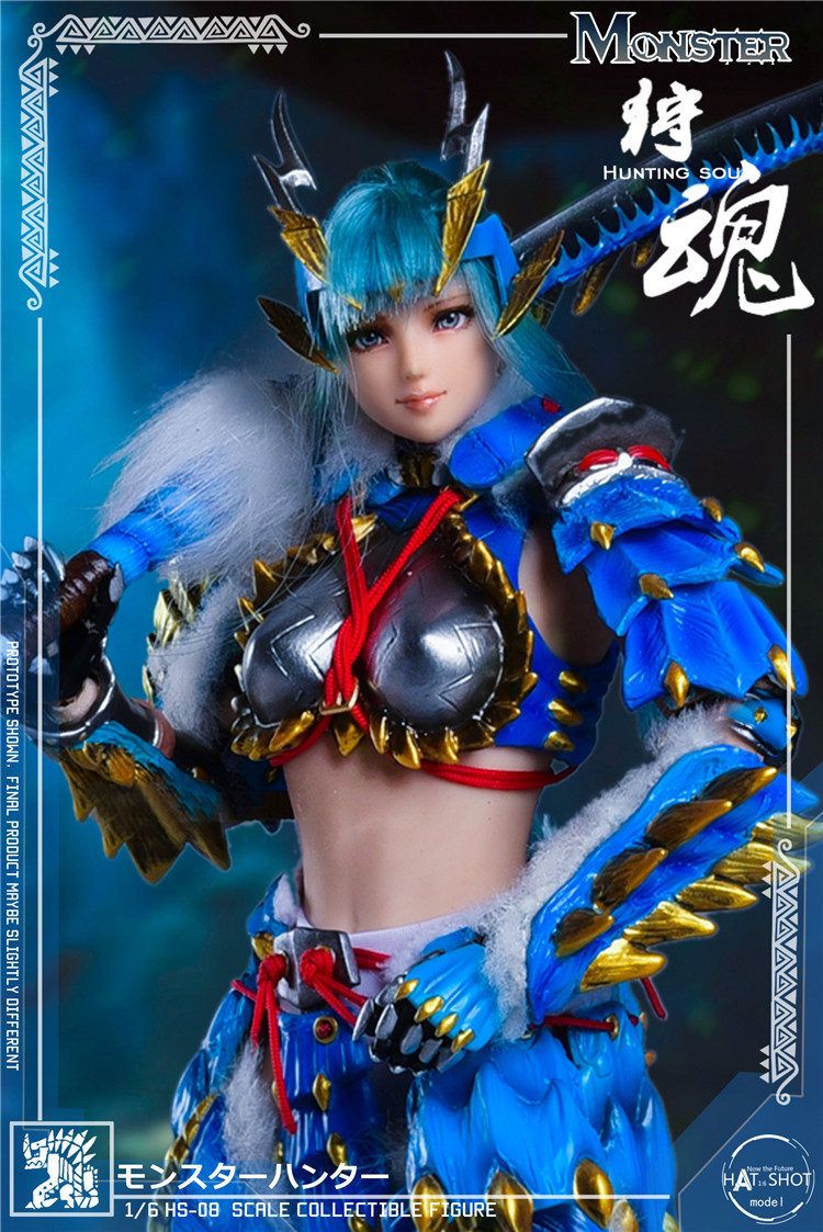 fantasy - NEW PRODUCT: HATSHOT: [HS-08] 1:6 Hunting Soul Doll Version Figure Accessories & [HS-08D] 1:6 Hunting Soul Doll & Platform Version Figure Accessories 7153