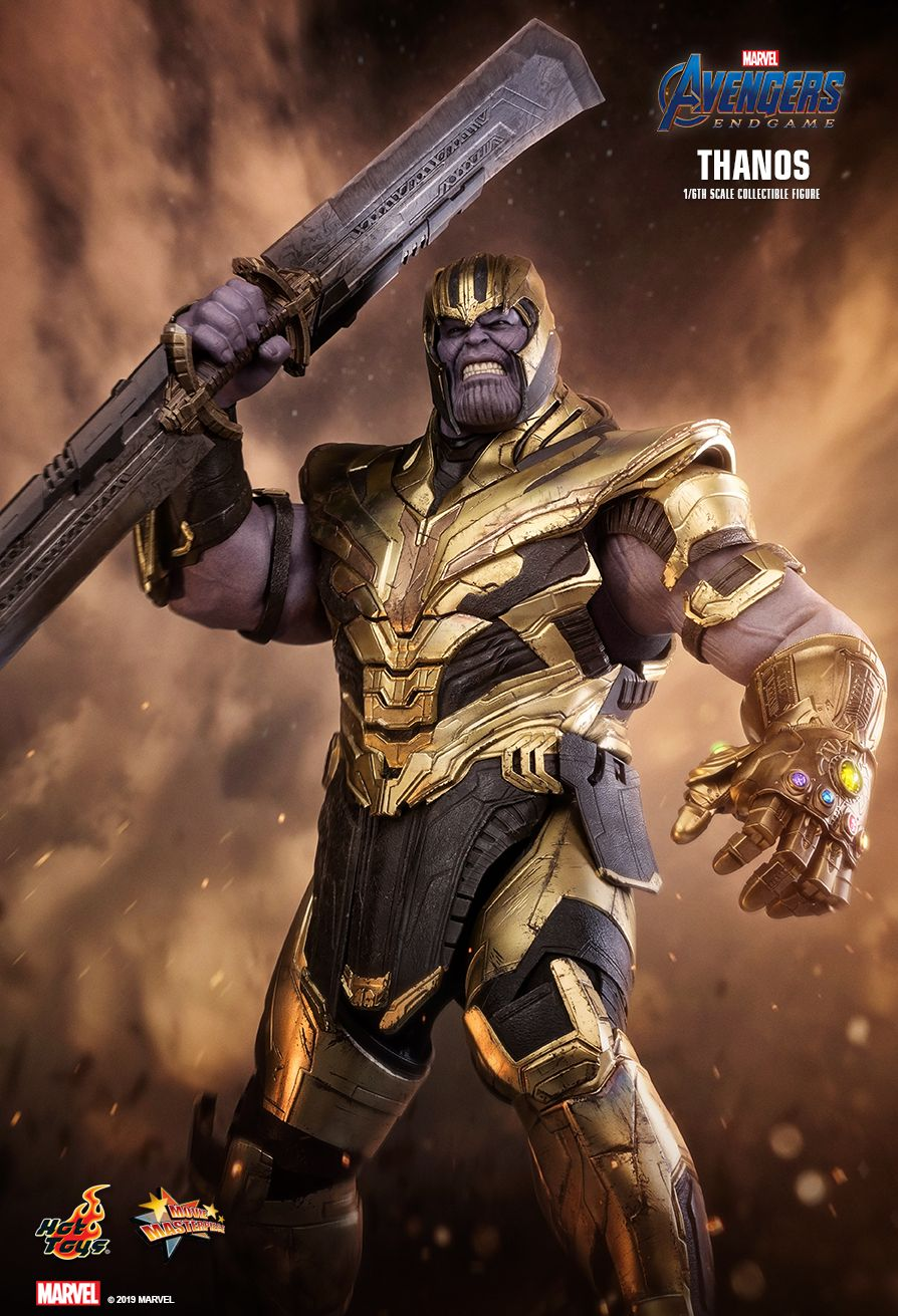 Thanos - NEW PRODUCT: HOT TOYS: AVENGERS: ENDGAME THANOS 1/6TH SCALE COLLECTIBLE FIGURE 7164