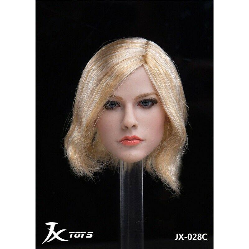 NEW PRODUCT: JXTOYS JX-029 Avril Head Sculpt H#Suntan 7172
