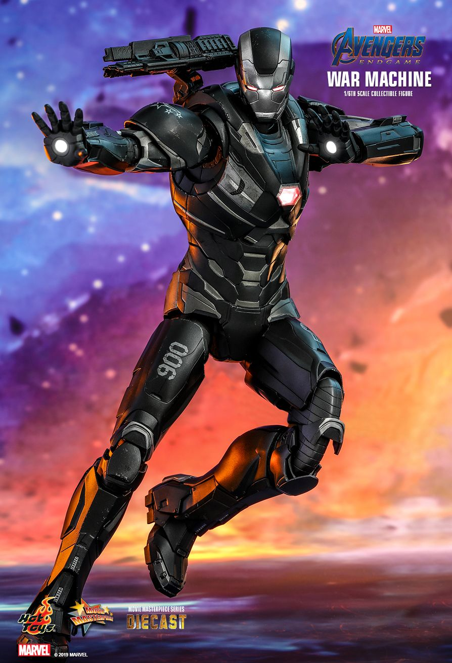 WarMachine - NEW PRODUCT: HOT TOYS: AVENGERS: ENDGAME WAR MACHINE 1/6TH SCALE COLLECTIBLE FIGURE 7173