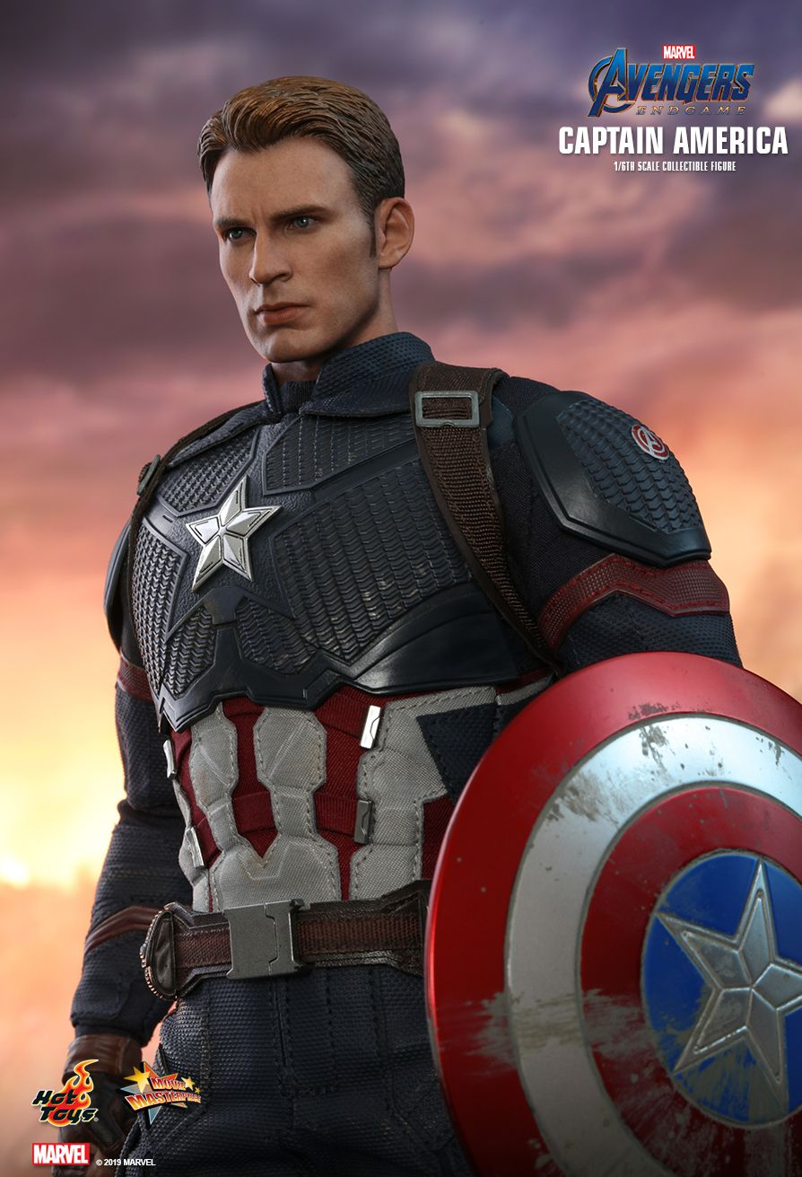captainamerica - NEW PRODUCT: HOT TOYS: AVENGERS: ENDGAME CAPTAIN AMERICA 1/6TH SCALE COLLECTIBLE FIGURE 7179
