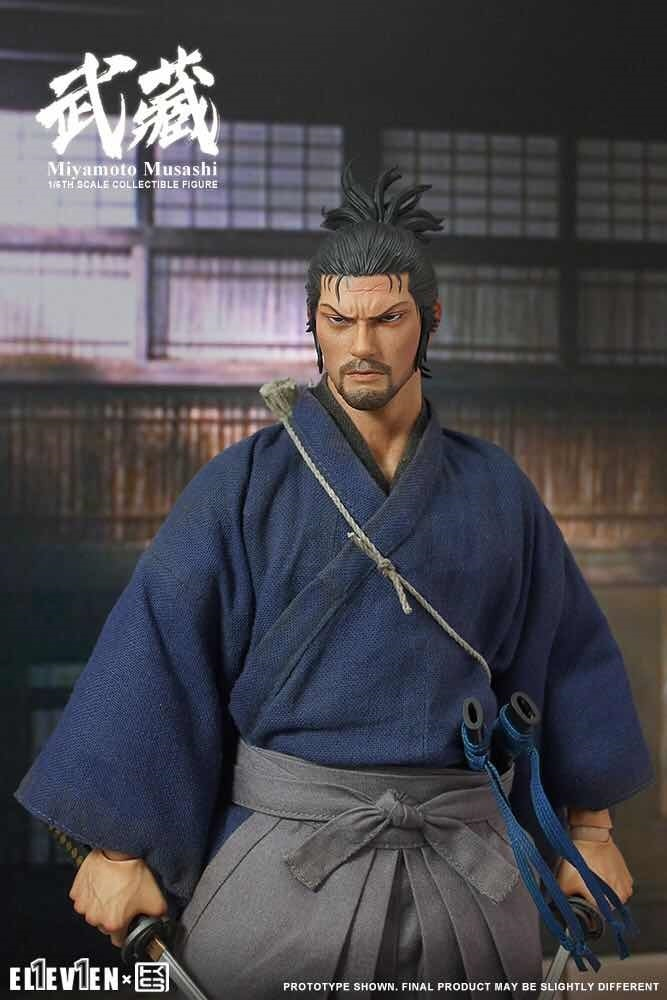 NEW PRODUCT: Eleven X KAI Musashi 1/6 Scale Figure 7189
