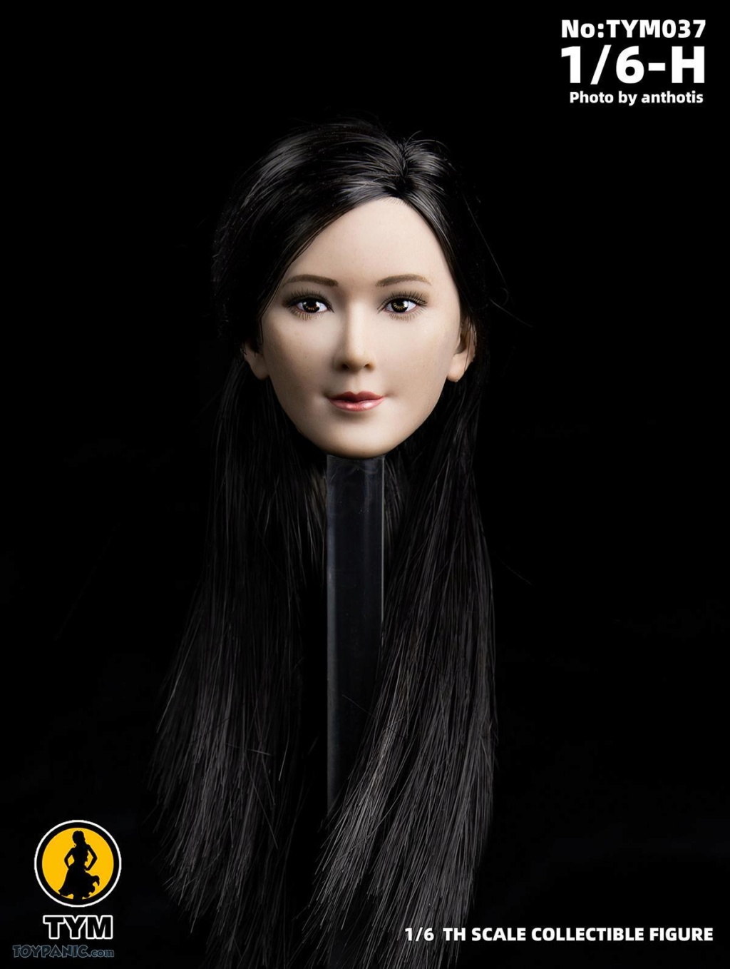 female - NEW PRODUCT: Technic Toys: 1/6 Asian Ling Ling Head Sculpture Code: TYM037 71920110