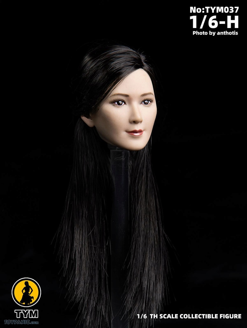 female - NEW PRODUCT: Technic Toys: 1/6 Asian Ling Ling Head Sculpture Code: TYM037 71920111
