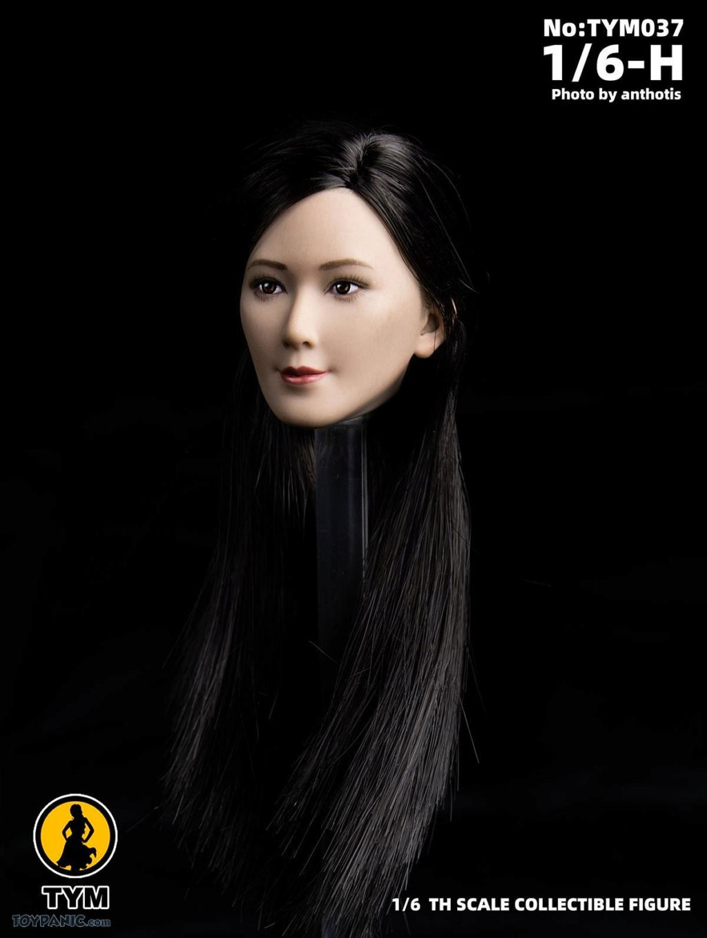 female - NEW PRODUCT: Technic Toys: 1/6 Asian Ling Ling Head Sculpture Code: TYM037 71920112