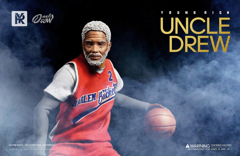 YoungRichToys - NEW PRODUCT: 1/6 Scale YOUNG RICH TOYS B001 KYRIE IRVING & UNCLE DREW Action Figure (standard & Deluxe) 71d5dd10