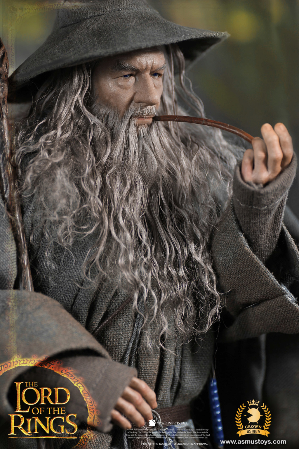NEW PRODUCT: ASMUS TOYS THE CROWN SERIES : GANDALF THE GREY 1/6 figure 7212