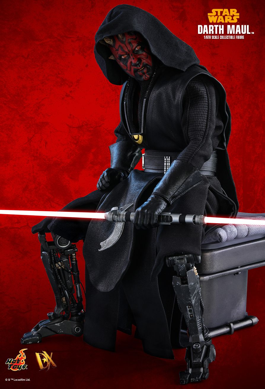 solo - NEW PRODUCT: HOT TOYS: SOLO: A STAR WARS STORY DARTH MAUL 1/6TH SCALE COLLECTIBLE FIGURE 7222
