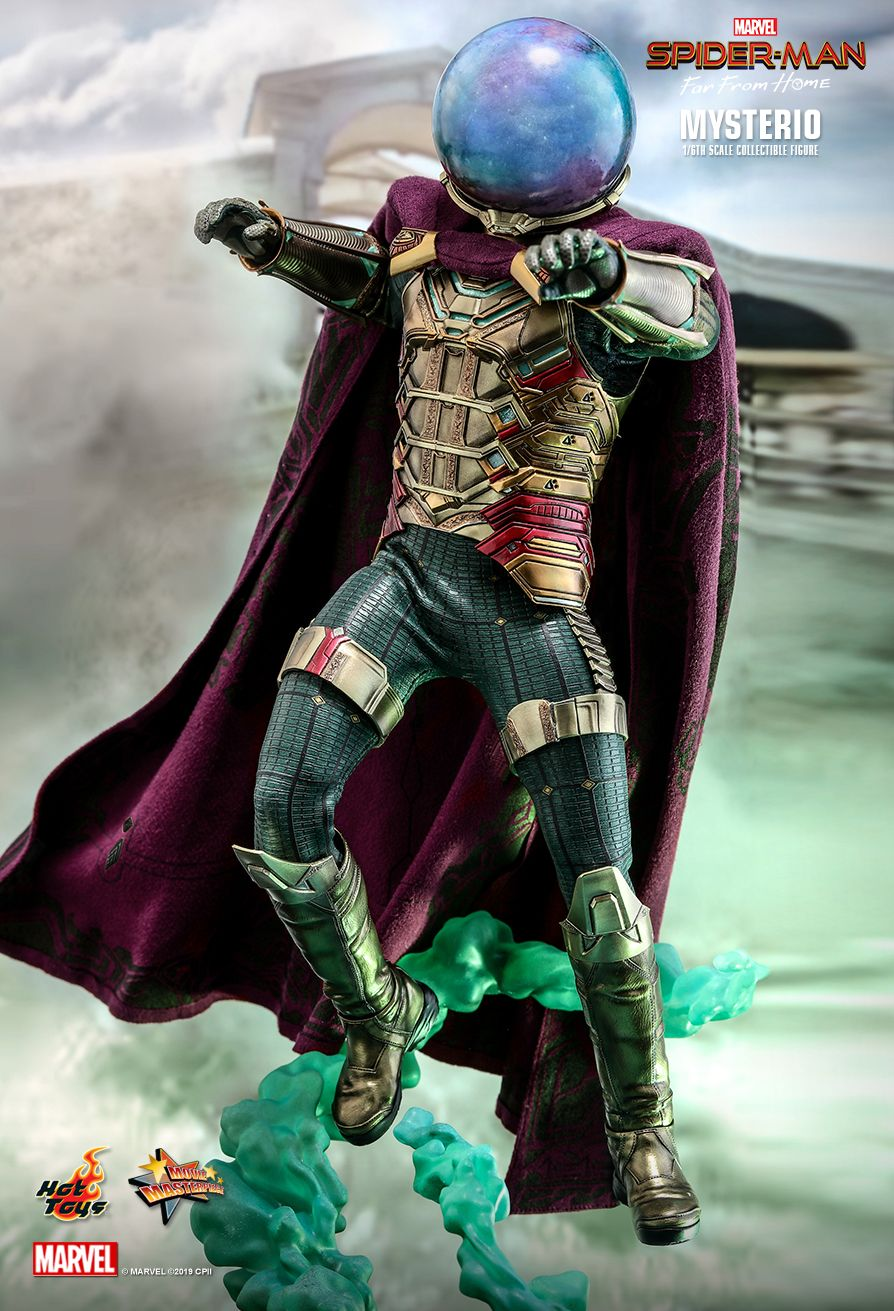 NEW PRODUCT: HOT TOYS: SPIDER-MAN: FAR FROM HOME MYSTERIO 1/6TH SCALE COLLECTIBLE FIGURE 7239