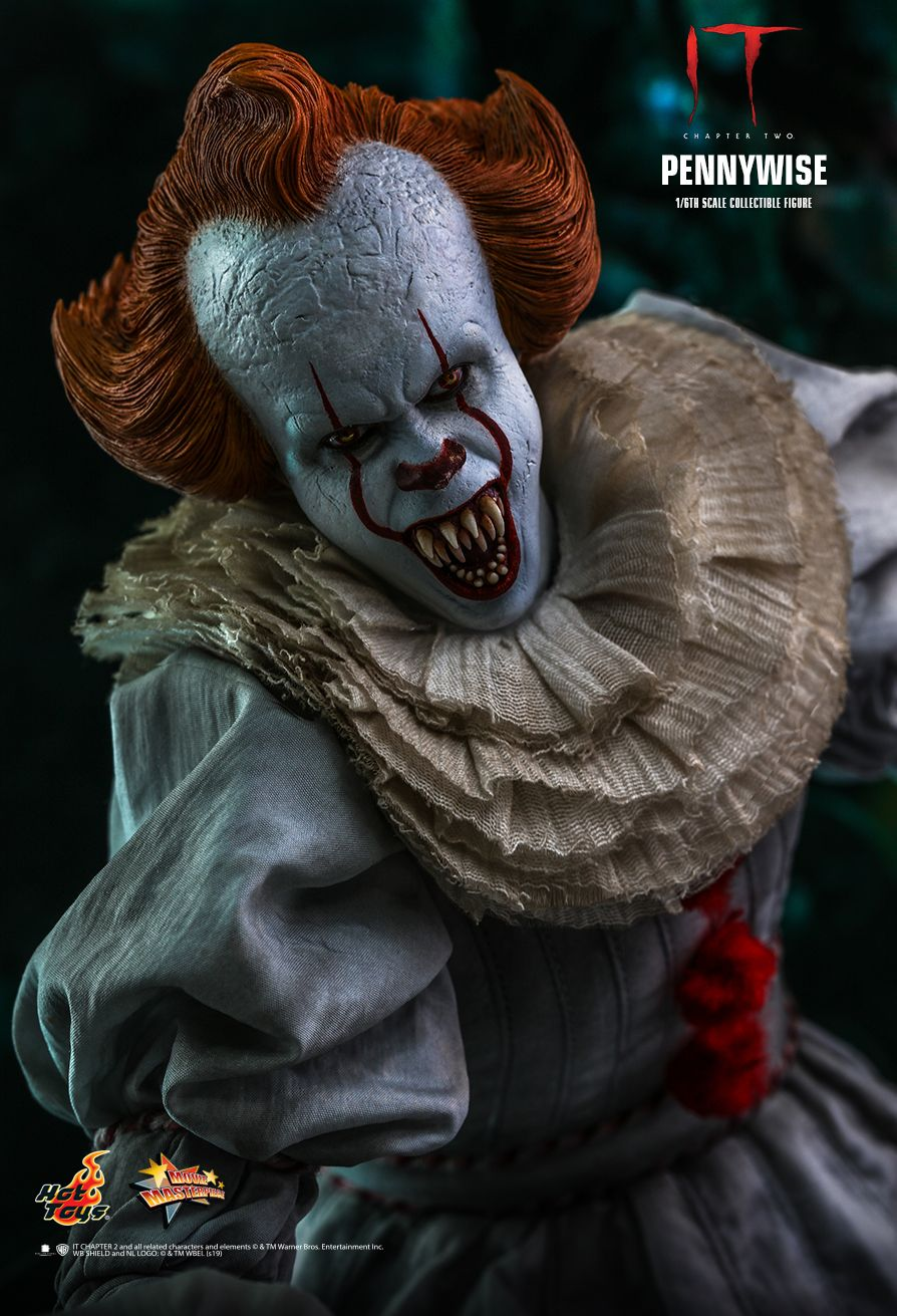 NEW PRODUCT: HOT TOYS: IT CHAPTER TWO PENNYWISE 1/6TH SCALE COLLECTIBLE FIGURE 7240