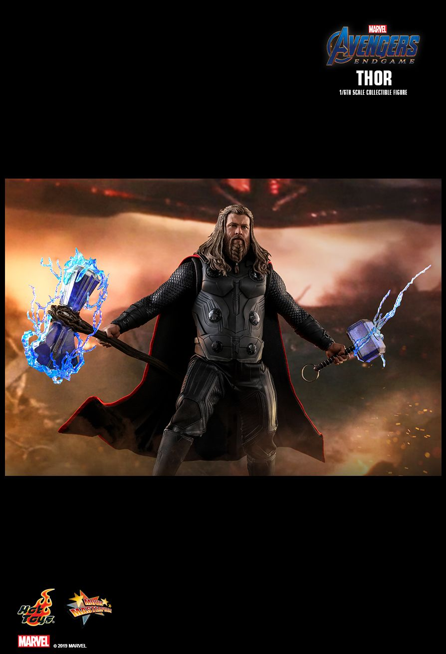 marvel - NEW PRODUCT: HOT TOYS: AVENGERS: ENDGAME THOR 1/6TH SCALE COLLECTIBLE FIGURE 7249