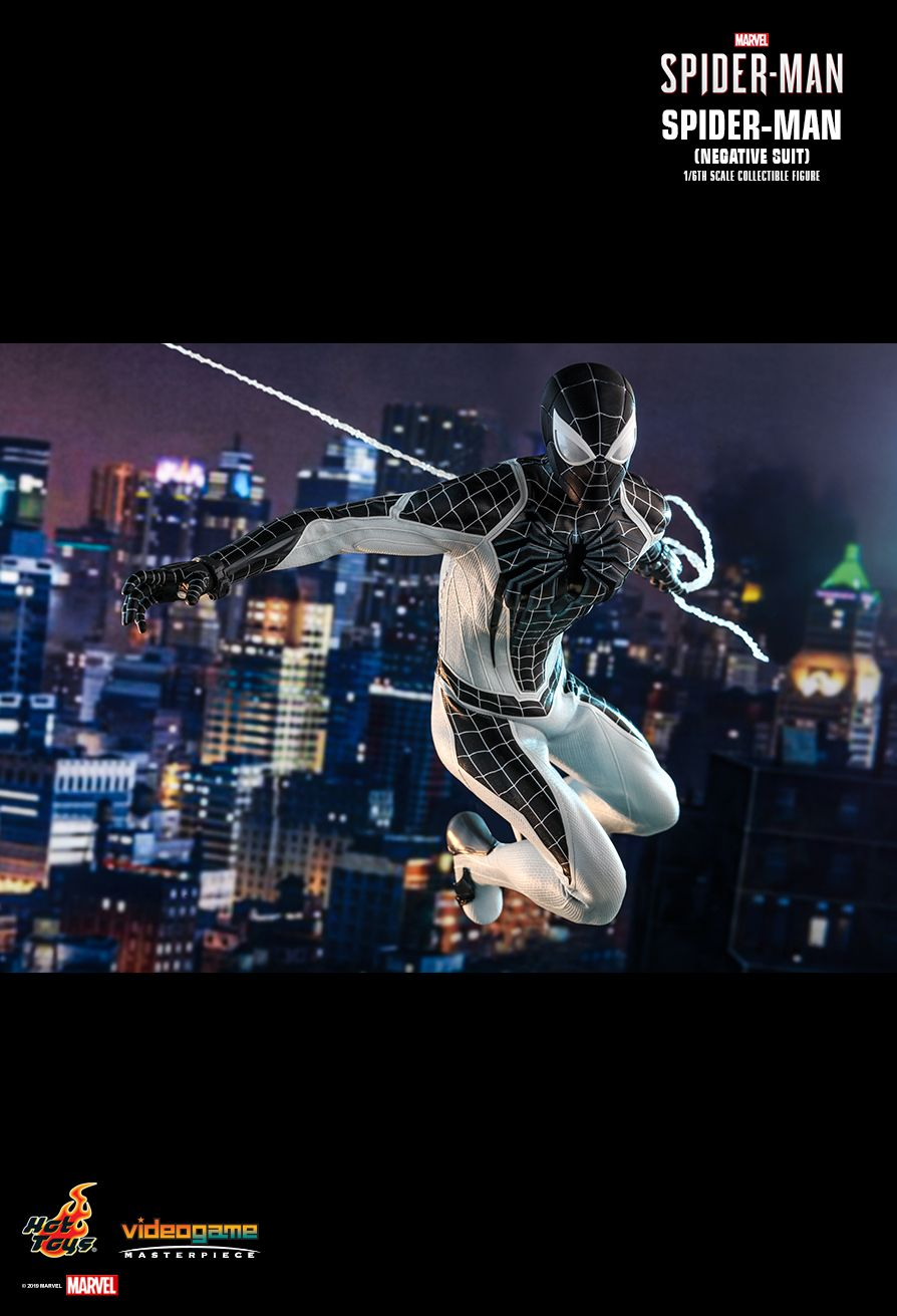 Spider-Man - NEW PRODUCT: HOT TOYS: MARVEL'S SPIDER-MAN SPIDER-MAN (NEGATIVE SUIT) 1/6TH SCALE COLLECTIBLE FIGURE (EXCLUSIVE EDITION) 7255