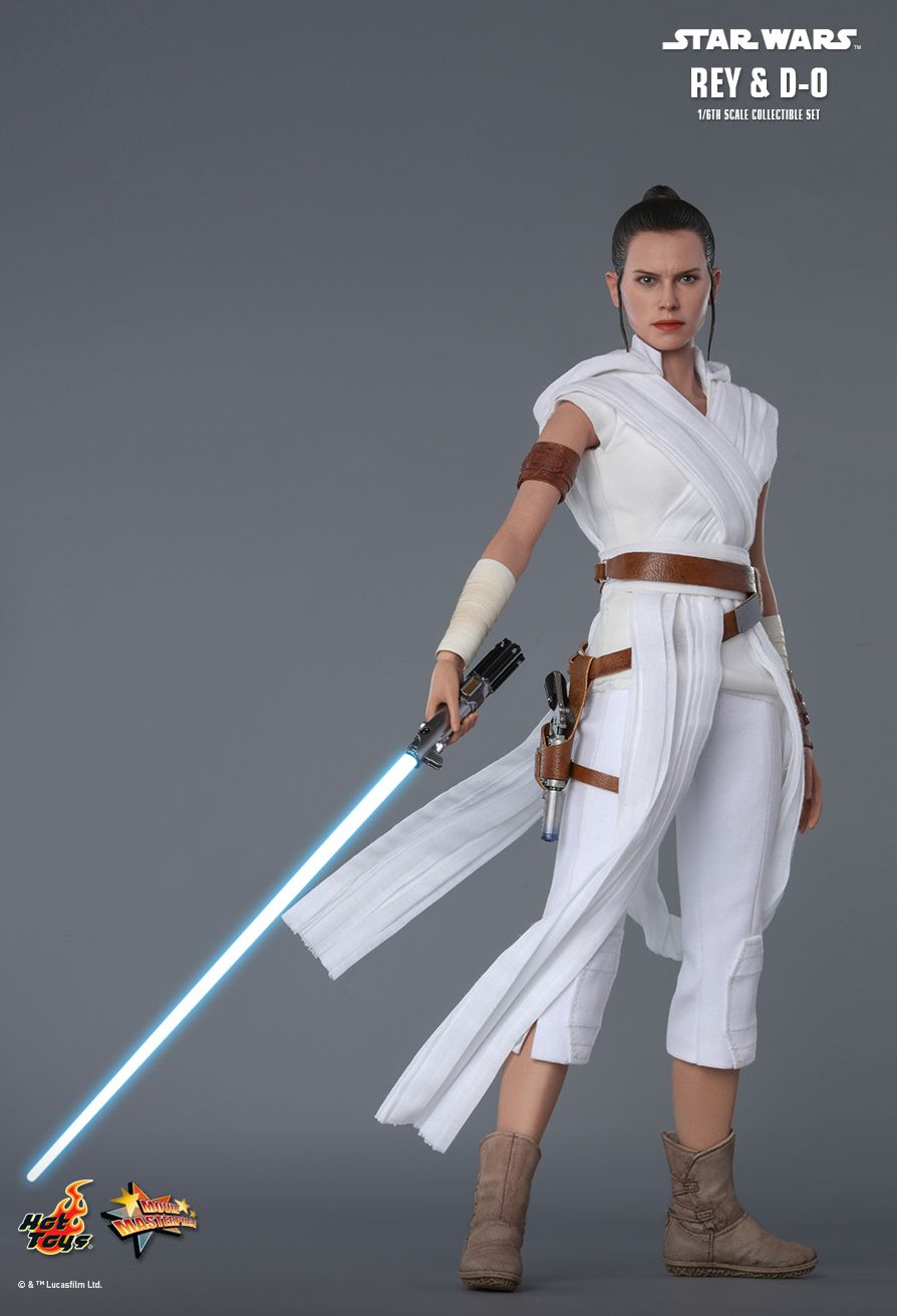 Rey - NEW PRODUCT: HOT TOYS: STAR WARS: THE RISE OF SKYWALKER REY AND D-O 1/6TH SCALE COLLECTIBLE FIGURE 7256