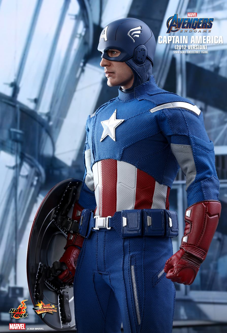 movie - NEW PRODUCT: HOT TOYS: AVENGERS: ENDGAME CAPTAIN AMERICA (2012 VERSION) 1/6TH SCALE COLLECTIBLE FIGURE 7270