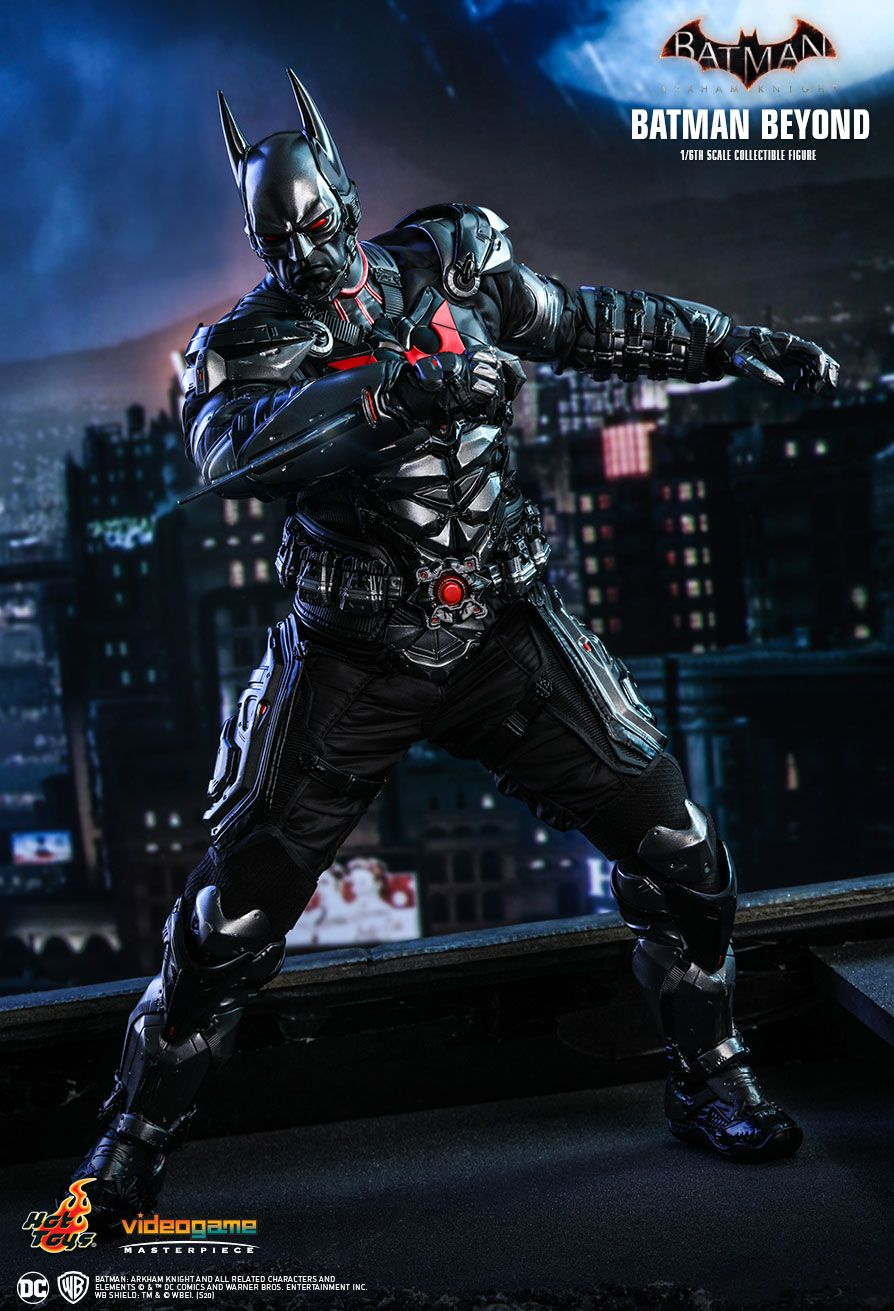 BatmanBeyond - NEW PRODUCT: HOT TOYS: BATMAN: ARKHAM KNIGHT BATMAN BEYOND 1/6TH SCALE COLLECTIBLE FIGURE 7278