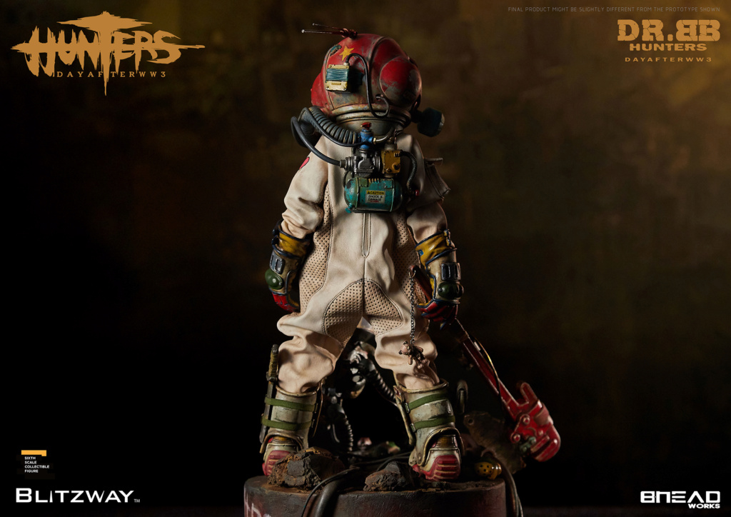 Robot - NEW PRODUCT: Blitzway: 1/6 scale HUNTERS : Day After WWlll: Dr.BB Action Figure 7293