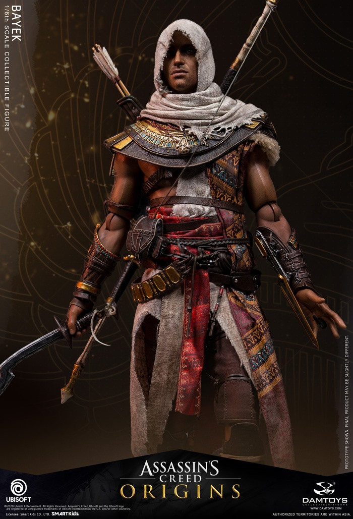 male - NEW PRODUCT: 1/6 DamToys Assassin's Creed Origins - Bayek 1/6 scale figure 7307