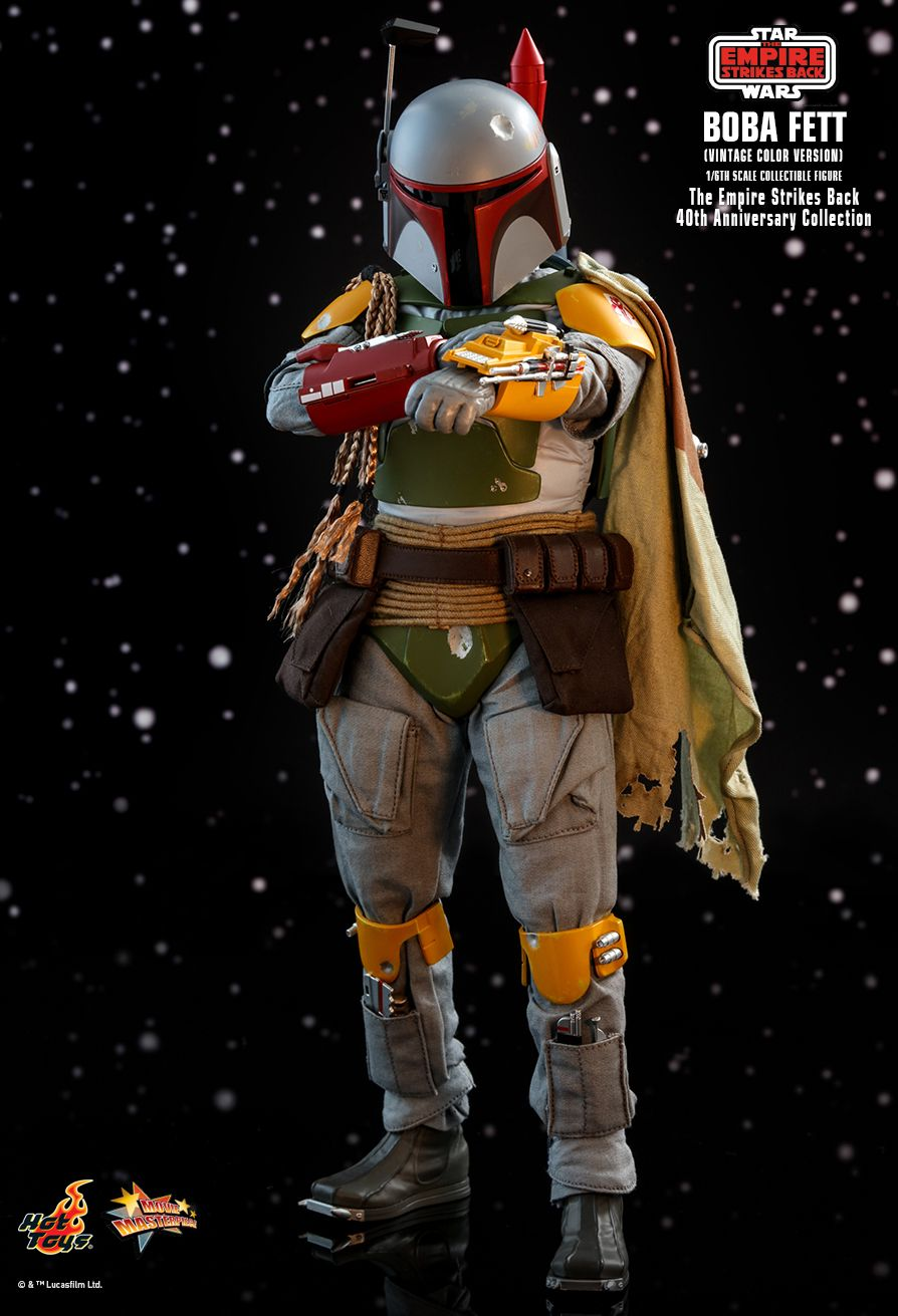 hottoys - NEW PRODUCT: HOT TOYS: STAR WARS: THE EMPIRE STRIKES BACK™ BOBA FETT™ (VINTAGE COLOR VERSION) (40TH ANNIVERSARY COLLECTION) 1/6TH SCALE COLLECTIBLE FIGURE 7310